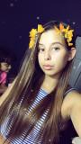 Ariana Renee en Twitter nuevo color de pelo