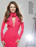 ELIZABETH HURLEY en Zoomer Magazine Mayo de 2015