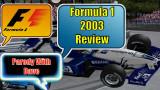 F1 2003 Retro Review Parodia Una Respuesta A