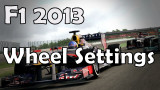 F1 2013 Wheel