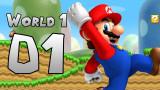 Nuevo Super Mario Bros Wii World 1 Part