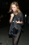 ABIGAIL ABBEY CLANCY Leaves Mondrian Hotel en Lond...