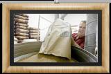 Abby Franke vierte el grano en el molino en su Ago...