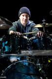 Abe Cunningham baterista de la banda de metal alte...