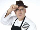 Madrid chef Abraham García en