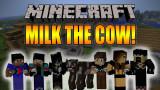 Minecraft LECHE A ESTRENAR LA VACA AQUÍTICA BliTzz