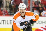 Philadelphia Flyers Adam Hall Foto de Andy