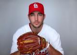 Adam Wainwright de los Cardenales Baseball foto Al...