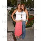 Addison Hoover y hermana gemela Alex Foto de Roger...