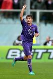 Adem Ljajic Adem Ljajic de ACF Fiorentina celebra...