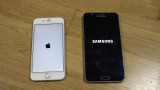 IPhone 6 iOS 9 GM vs Samsung Galaxy Nota 5 Velocid...