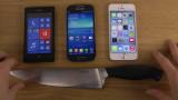 Nokia Lumia 520 vs Samsung Galaxy S4 Mini vs iPhon...