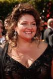 Aida Turturro llega a los 59.os Premios Primetime...