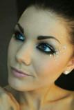 Maquillaje de ojos Sparkley traje de Halloween de...