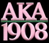 Alpha Kappa Alpha AKA Emblemas de National Sportsw...