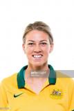 Alanna Kennedy posa durante un australiano Matilda...