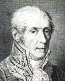 Alessandro Volta en una incisión