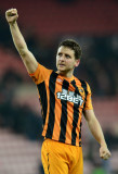Alex Bruce Alex Bruce de Hull City celebra su equi...