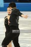 Los EE.UU. Maia Shibutani y Alex Shibutani realiza...
