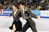 Maia Shibutani y Alex Shibutani realizan su breve...