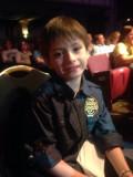 Alex Shumaker 7 años de edad baterista en el Kenny