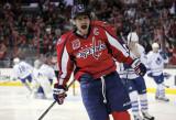 Ovechkin pots par Capitales en blanco Leafs 40
