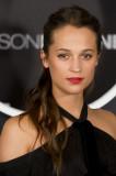 Alicia Vikander Jason Bourne Photocall en