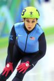 Patinaje de velocidad Allison Baver Medalla de bro...