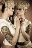 Alysha Nett Tatuaje Modelo Galerías de Fotos Fotos...