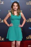 Alyssa Jirrels llega al estreno mundial de Marvel