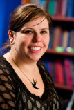 Amanda Hocking, autora de una popular serie para a...