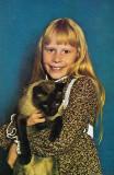 Amy Carter y su gato Misty Malarkey Ying Yang Flic...