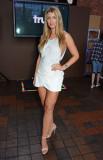 Amy Willerton en el lanzamiento VIP de TruTV