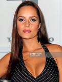 Actriz Ana Lucia Domínguez asiste a Telemundo s Pe...
