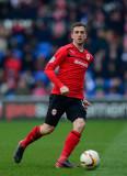 Andrew Taylor, jugador de la ciudad de Cardiff, An...