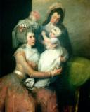 Retrato de la Sra. John Barker Iglesia Angelica Sc...