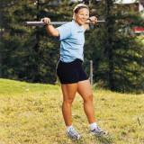 Anja Parson El esquiador sueco Anja Paerson sale