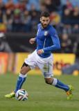 Antonio Candreva Antonio Candreva de Italia en acc...