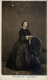 CDV Arabella Goddard destacada pianista Inglés Tut...