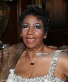 Aretha Franklin llega para su celebración de cumpl...