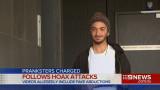 Arman Jalal fue visto sonriendo después de ser acu...