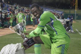 El ex Seattle Sounder Ashani Fairclough entrena co...