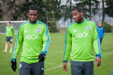 Sounders Preseason Feb 9 2013 Ashani Fairclough y