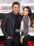 Oscar De La Hoya y su hija Atiana De La Hoya llega...