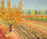 Paleta Cuchillo Pintores Autumn Tree de