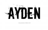 Ayden Nombre