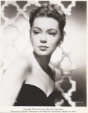 Barbara Rush nacida en 1927 para Paramount Picture...