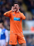 Barry Ferguson El jugador de Blackpool, Barry Ferg...