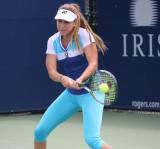 Belinda Bencic Taining durante la Copa Rogers en T...