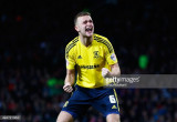 Ben Gibson, de Middlesbrough, celebra su penalizac...